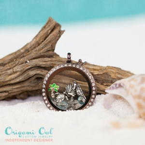 Beach-themed Living Locket